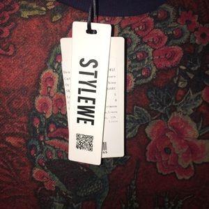 dc2c96a654 Stylewe Dresses - NWT STYLEWE LARGE  8 HIGH NECKLINE SWEATER DRESS